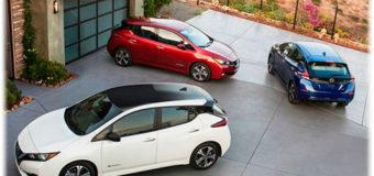 Хэтчбэк Nissan Leaf – 2018. Новый электромобиль второго поколения
