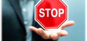 Штраф за знак «Проезд без остановки запрещен»