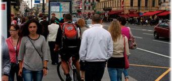 Может ли велосипедист передвигаться по тротуарам