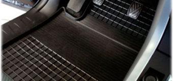 Коврик автомобильный из резины — теперь убирать легко