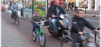 Разрешается ли двигаться  мопедам, мотоциклам, пешеходам по велосипедной дорожке