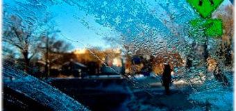 Как быстро разморозить стёкла машины зимой?