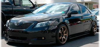 Товары, которые нужны для тюнинга Toyota Camry