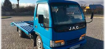Всё о китайском грузовике JAC (HFC 1020K)