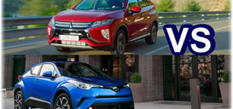 Выбираем кроссовер: Toyota C-HR или Mitsubishi Eclipse  Cross?