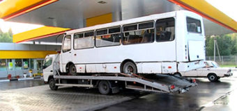 Эвакуатор для автобуса: описание видов конструкции