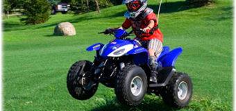 Детские электроквадроциклы.  Популярные модели в зависимости от применения.