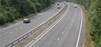 Дорога для автомобилей. Знак, минимальная и максимальная  скорость.