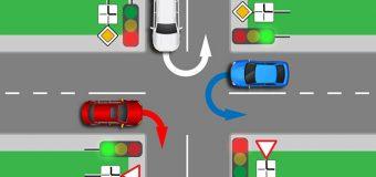 Штраф за то, что не пропустил машину на перекрестке. Нарушения правил проезда перекрестков