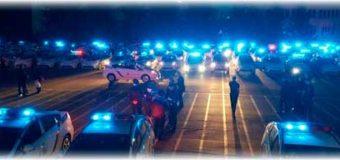 Когда уступать дорогу полиции? Синие проблесковые маячки