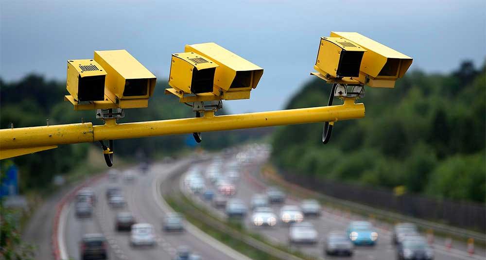камеры средней скорости в Англии